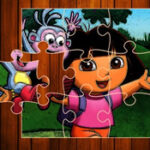 Quebra-cabeças Online de Dora