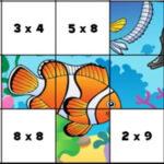 Quebra-cabeças de Tabelas de Multiplicação