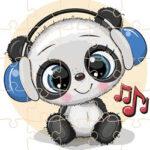 Quebra-cabeças de Animais Musicais