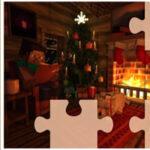 Quebra-cabeça de Natal Minecraft