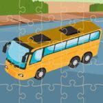 Quebra-cabeça de ônibus online
