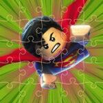 Quebra-cabeças dos Super-Heróis de Lego