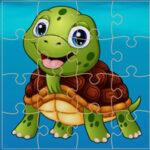 Quebra-cabeças de tartaruga