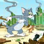 Quebra-cabeças Tom e Jerry
