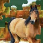 Quebra-cabeças de Cavalos online