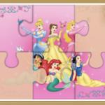 Quebra-Cabeças de Princesas Disney Online
