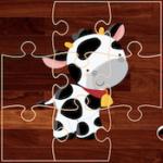 Quebra-cabeças de Animais de Fazenda
