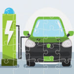 Quebra-cabeça de Carros Elétricos