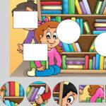 Quebra-cabeça de formas: Escola
