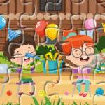 Quebra-Cabeças Festas de Aniversário