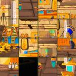 Quebra-cabeça deslizante do Egito