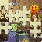 Puzzle Quebra-Cabeças Halloween