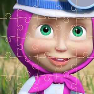 Quebra-cabeças de Masha e o Urso