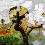 Quebra-cabeças de Árvores de outono
