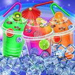 Bebidas Geladas de arco-íris