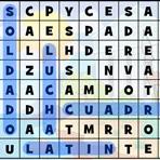 Romanos. Sopa de letras em Espanhol