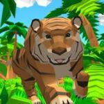 Simulação online de um Tigre em 3D