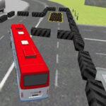Simulação 3D Estacionamento de ônibus