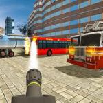 Simulador de Caminhão de Bombeiros