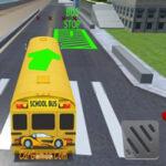 Simulador de ônibus escolar