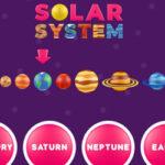 Sistema Solar em inglês