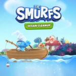 Os Smurfs limpam o Mar