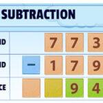 Subtração de Três Dígitos