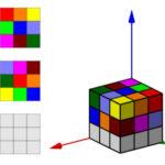 Sudoku 3D. 9 cores