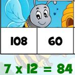 Tabela de Multiplicação até 12