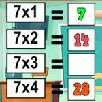 Prática de Tabelas Interativas de Multiplicação