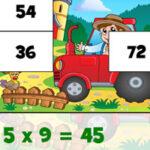 Tabelas de Multiplicação na Fazenda