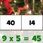 Tabelas de multiplicação de Natal