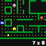 Tabelas de Multiplicação Pacman