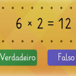 Tabuada do 6: Verdadeiro ou Falso