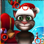 Encontrar diferenças Natal com Tom
