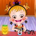 Trabalhos manuais de Halloween com Hazel