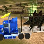 Transporte de Dinossauros 3D