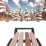Corrida de Trenó na Neve