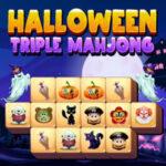 Halloween Mahjong Trio