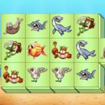 Triplo Mahjong de Animais Aquáticos