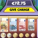 Dar Troco de Dinheiro em Euros
