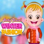 Vestir Baby Hazel no inverno