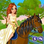Vestir Cavalo e Cavaleiro