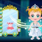 Vestir a Baby Hazel como uma Princesa