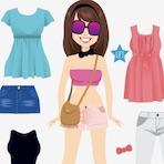 Jogo de Vestir no Verão