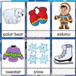 Vocabulário de Inverno em inglês