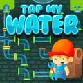 Conexão de tubos de água