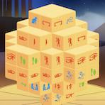 Mahjong Egípcio em 3D
